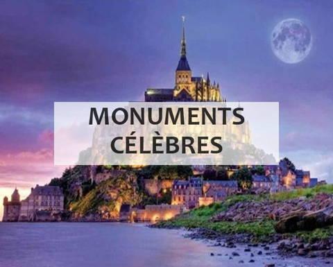 Broderie diamant collection monuments célèbres