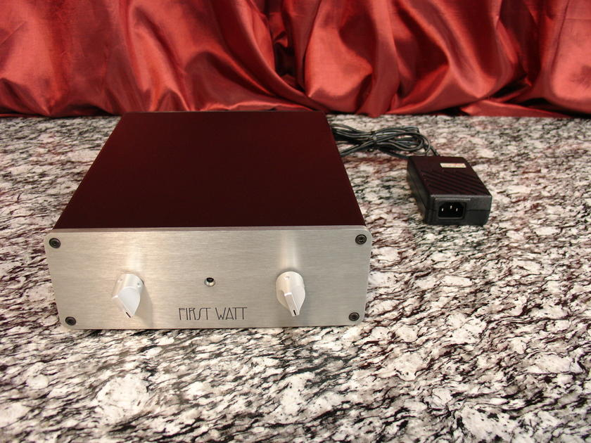 FIRST WATT / PASS LABS B-4 Active two-way stereo crossover satisfaction guaranteed