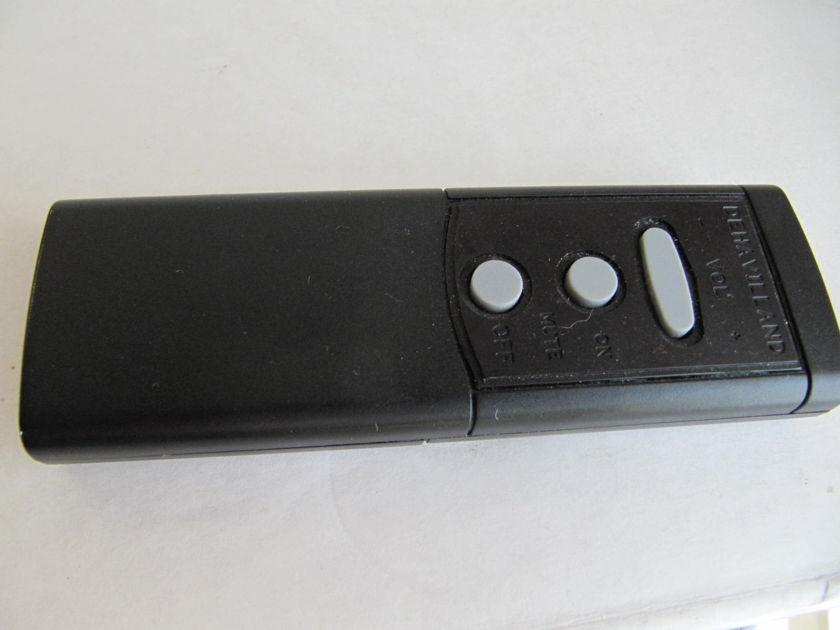 deHavilland Electric Amp Ultraverve 3 Remote Fresh tubes