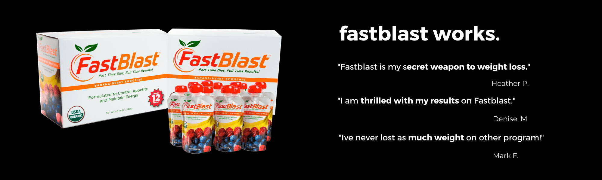 Fastblast works for weight loss