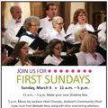 JH Chorale Performs at NMWA First Sundays