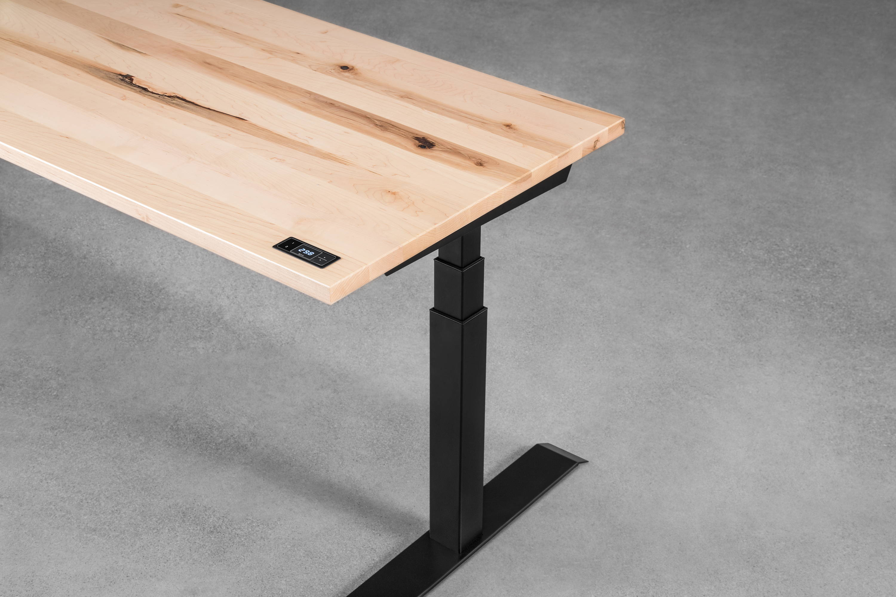 Sway maple - sit-stand desk - ergonofis