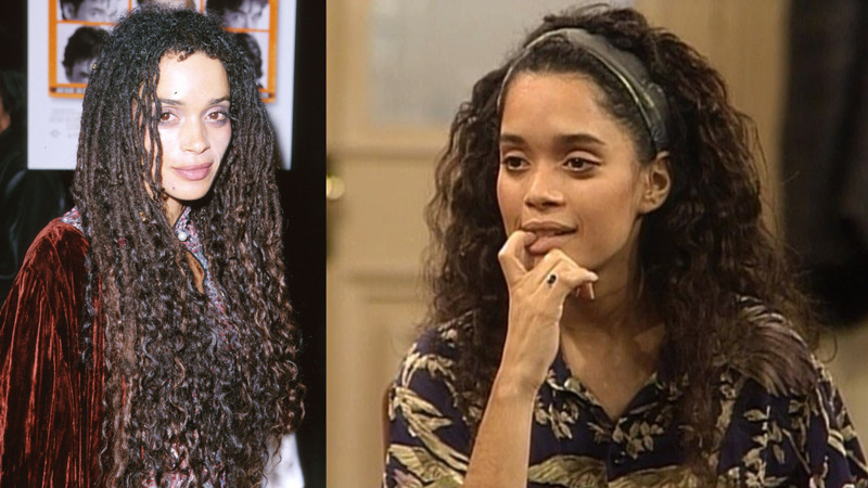 Lisa Bonet best natural hair
