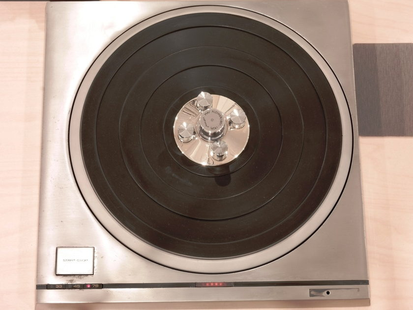 Technics SP-10 Mk II on Custom Plinth w/ LP Stabilizer