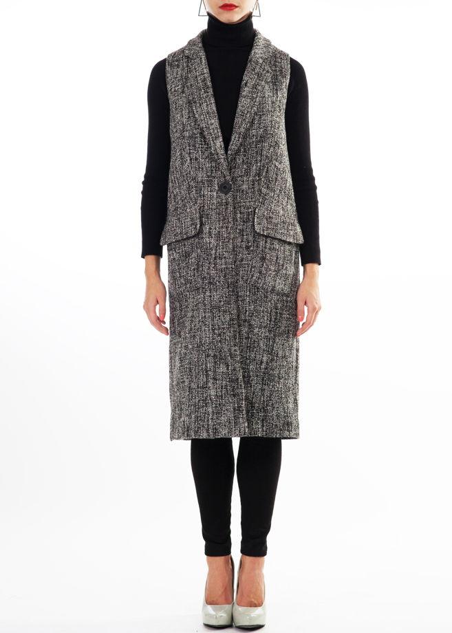 """Пальто-жилет. Коллекция """"Трюфель"""". Арт.: FA 025"""