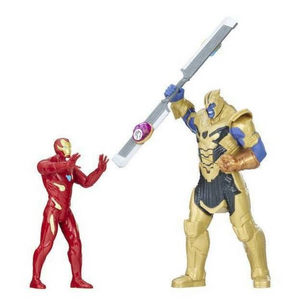 Avengers Infinity War Iron Man Vs Thanos Battle Set By Hasbro - India