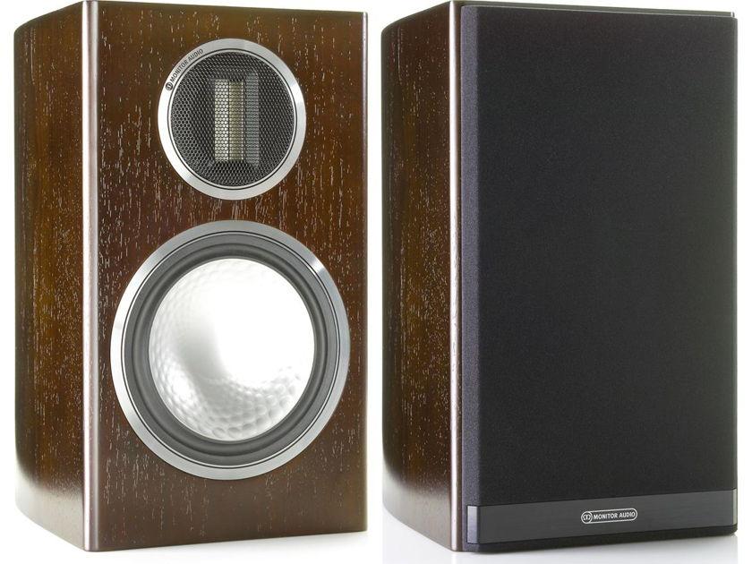 Monitor Audio Gold 100 Speakers (Dark Walnut Veneer) - Mint Demo's; 1 Yr. Warranty; 20% Off; Free Shipping