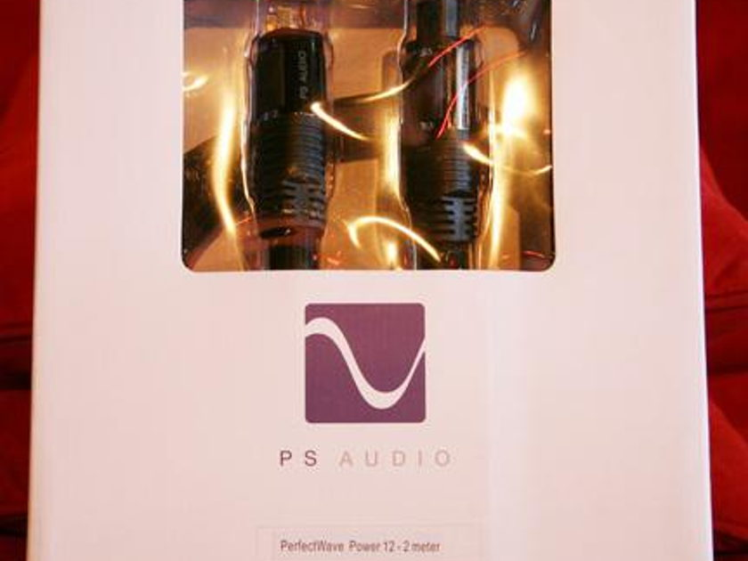 PS AUDIO Perfect Wave 12 2m AC Power Cord!!!