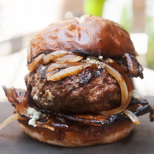 Blue Cheese stuffed Burger