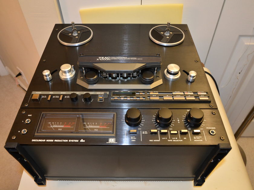 Teac X-1000R Open Reel Tape Deck