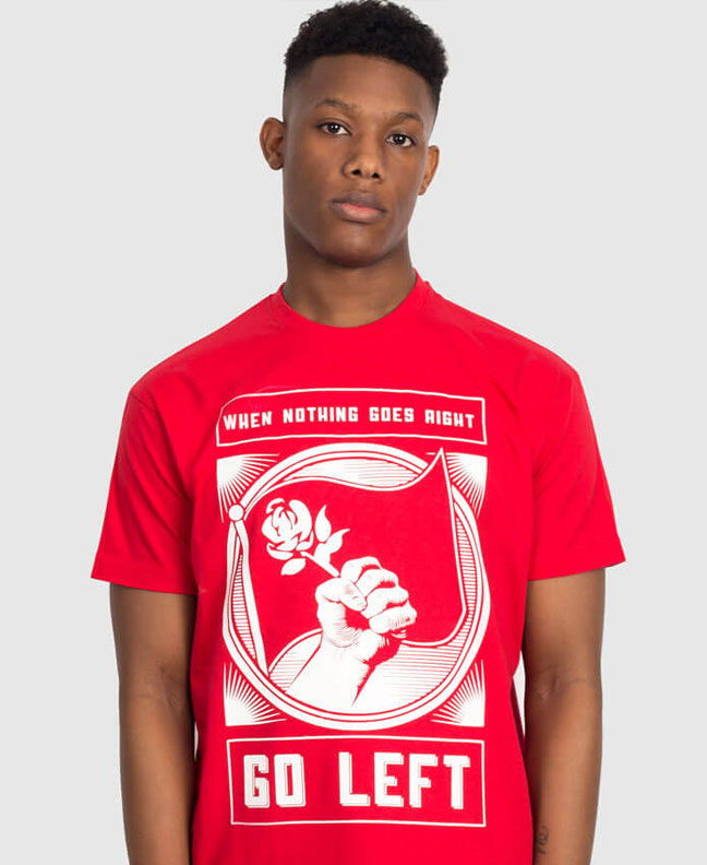 left wing liberal socialist t-shirts