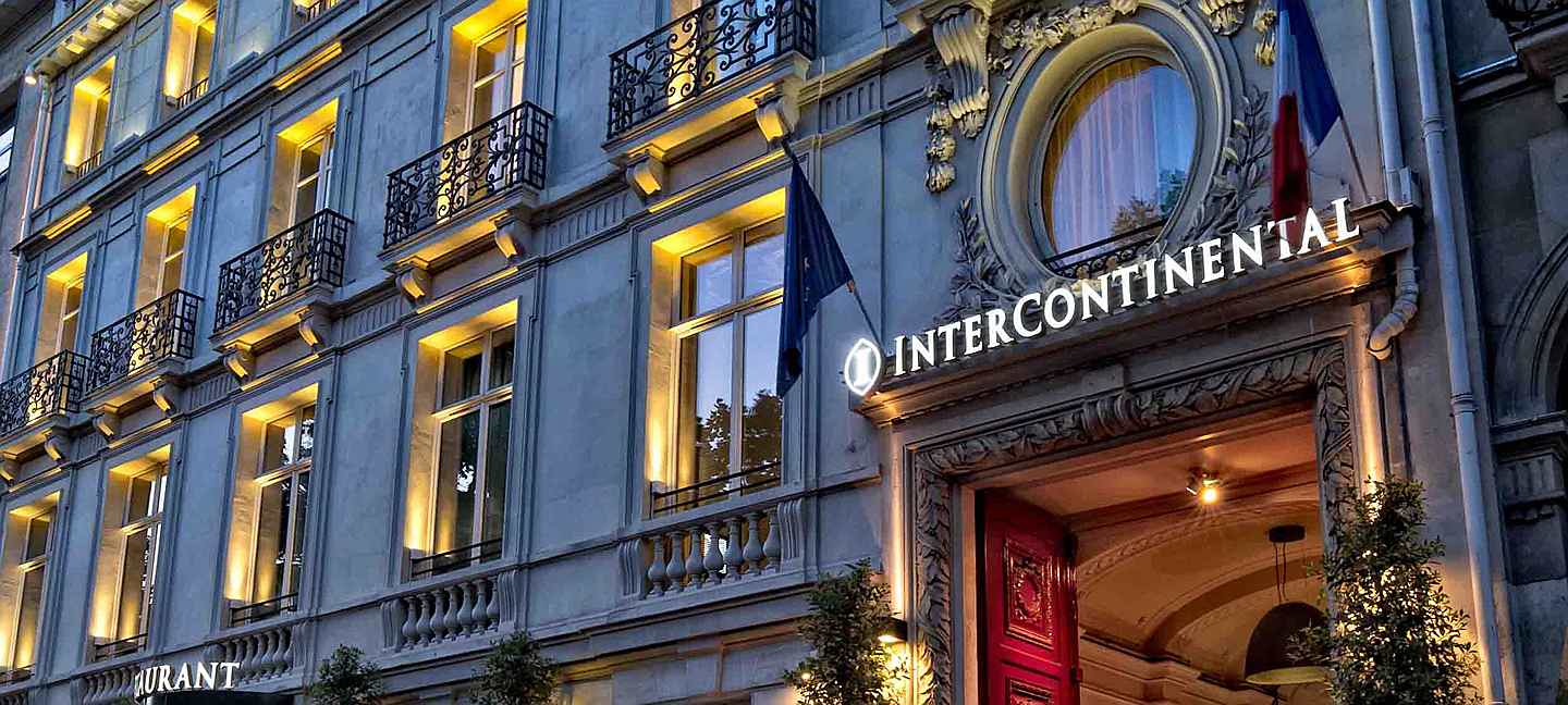 Paris - Hôtel Intercontinental - Crédit photo - J-P Bansard