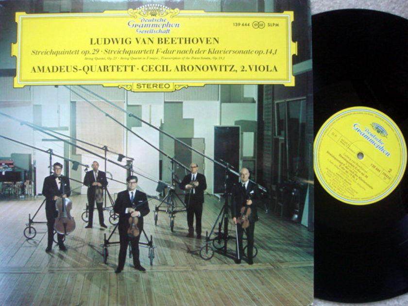 DGG / AMADEUS QT, - Beethoven String Quintet Op.29 & 14,1, NM!