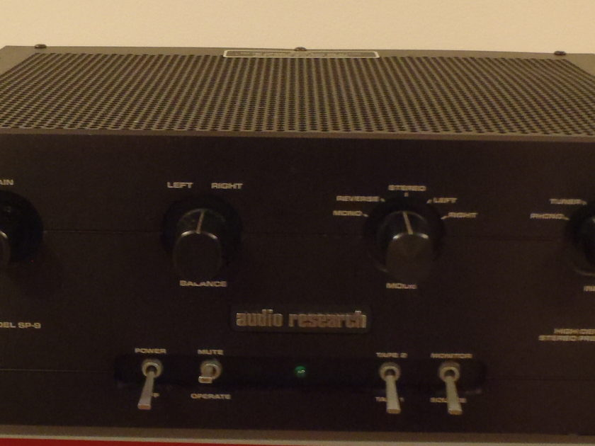 Audio Research SP9MKIII Stereo Preamp