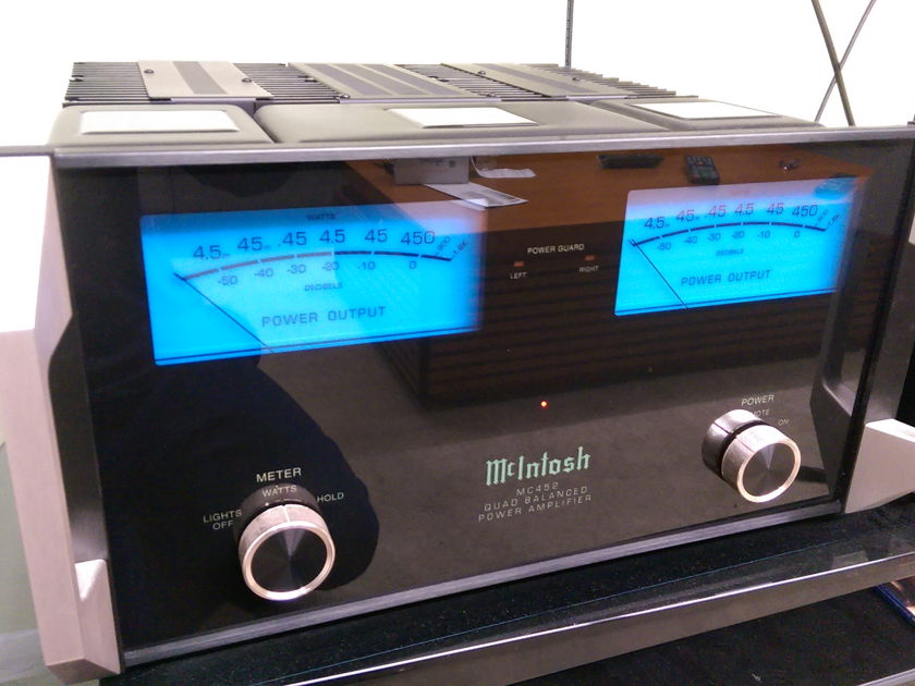 McIntosh Mc452 Quad balance power amplifier