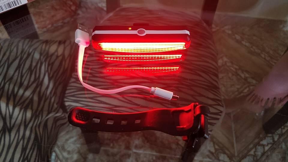 eclairage pour trottinette electrique barre led