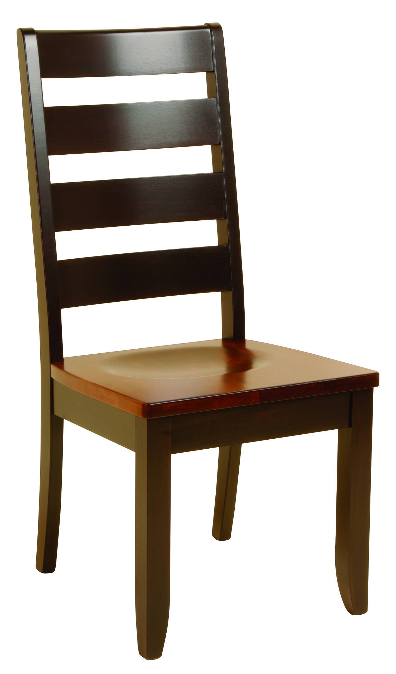 Dutch Ladder Solid Wood, Handcrafted Kitchen Chair or DIning Chair from Harvest Home Interiors Amish Furniture