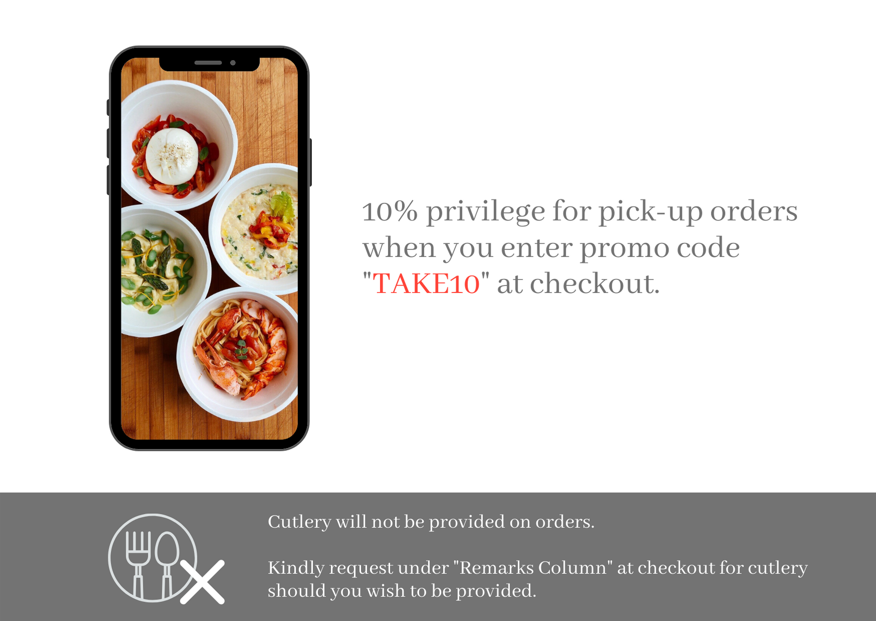 Takeaway & Delivery Information