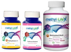 Pregnancy Bundle Chewable Methylated Multi + L-Methylfolate 2.5 mg + Hydroxocobalamin Supplements