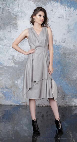 Платье бежевое Bonali 4055-0523
