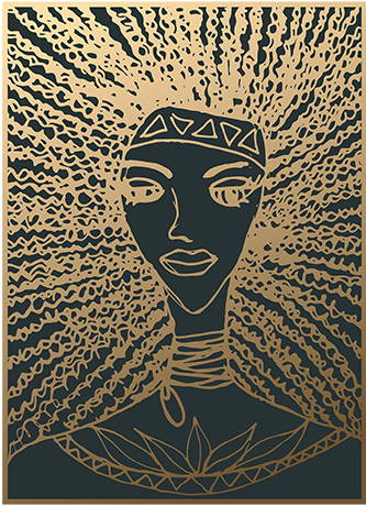 Golden Warrior Printable Art - Order Now