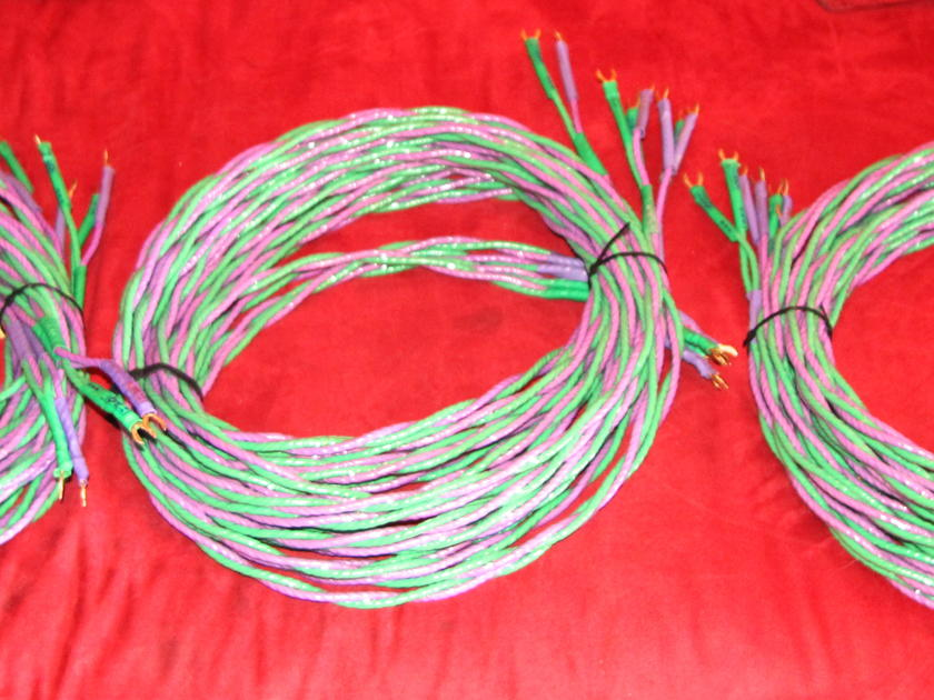 XLO Electric Type 6 Bi Wired Speaker cable 3 pair @ 176""