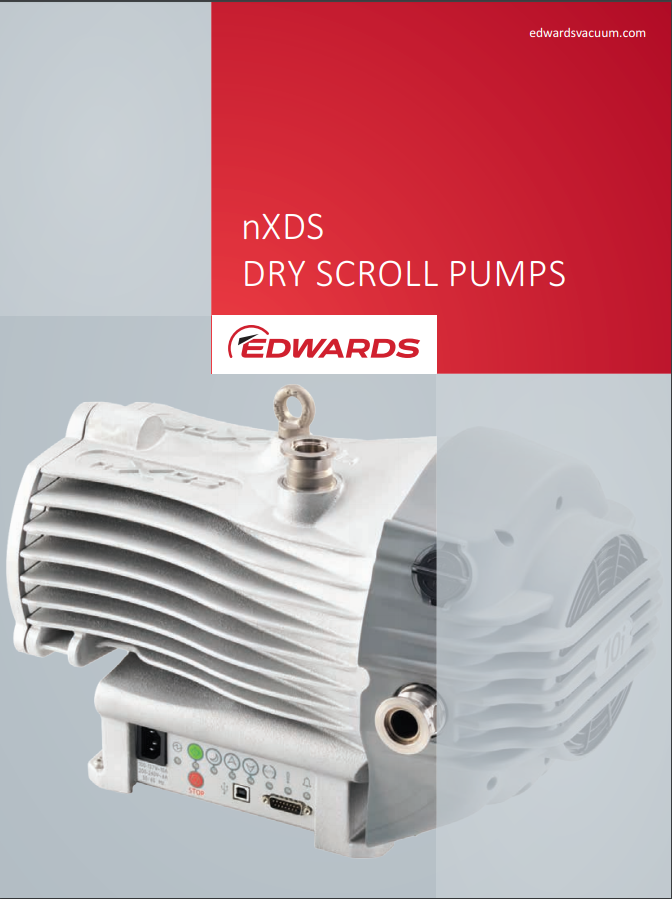 nXDS  Dry Scroll Pumps Brochure