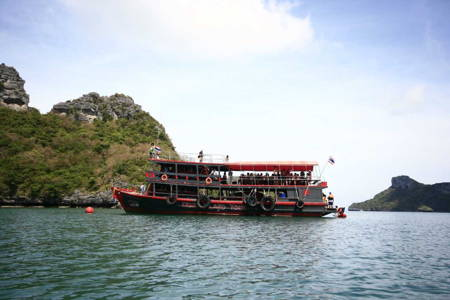 Full Day Angthong National Marine Park by Local Boat