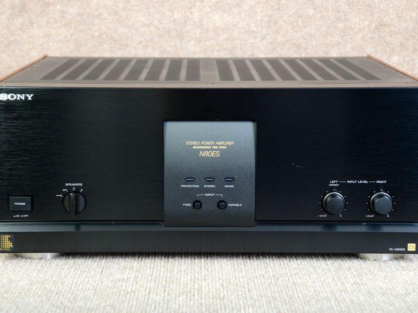 SONY  TA-N80ES  2 CHANNEL AMP