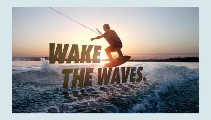 wake beach wakeboarden