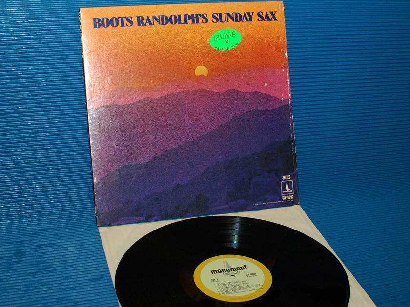 """BOOTS RANDOLPH -  - """"Sunday Sax"""" -  Monument 1968"""