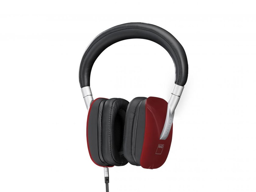 NAD VISO HP50 Headphones with Room Feel, Manufacturer's Warranty & Free Shipping (Red)
