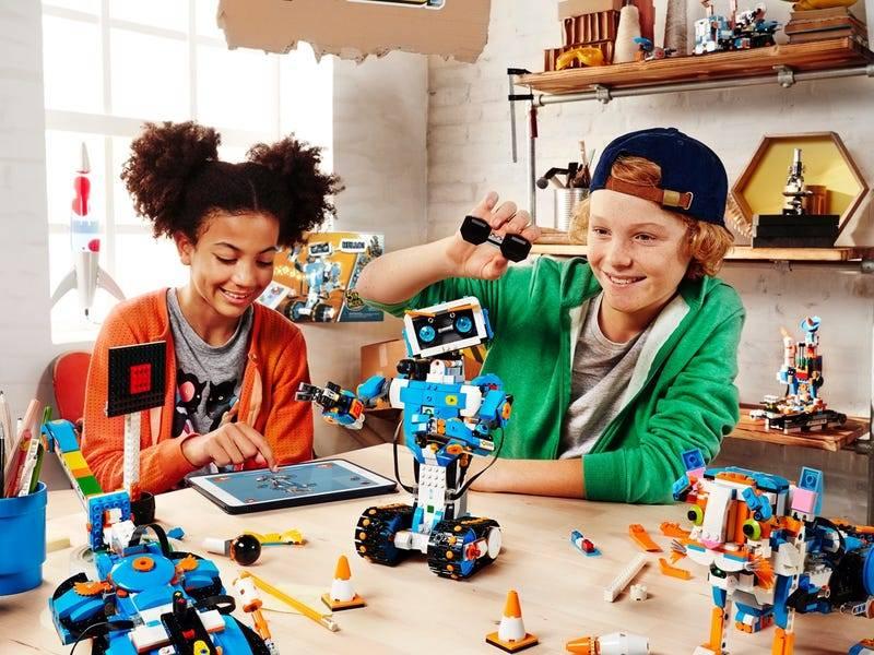 LEGO improves coding skills