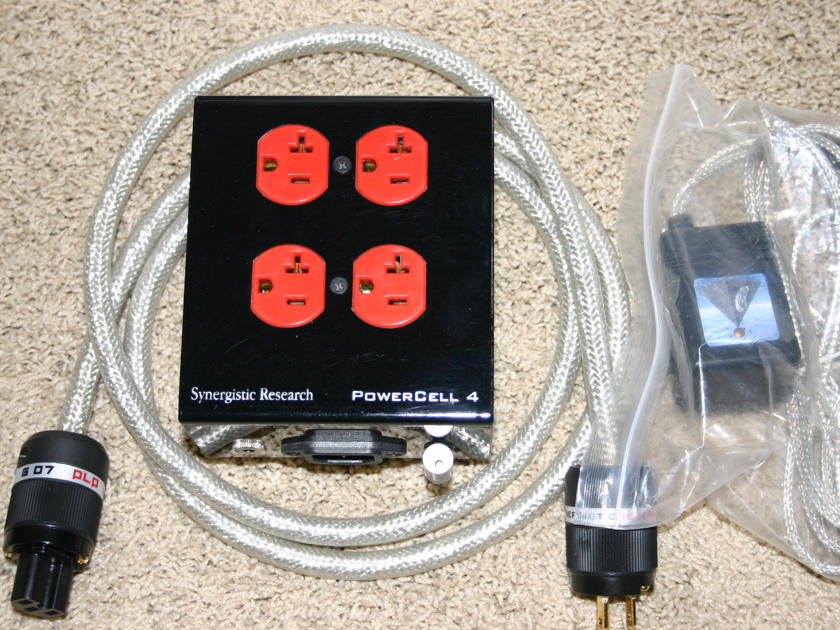 Synergistic Research  Powercell 4 with MPC  with upgraded Bask Cable
