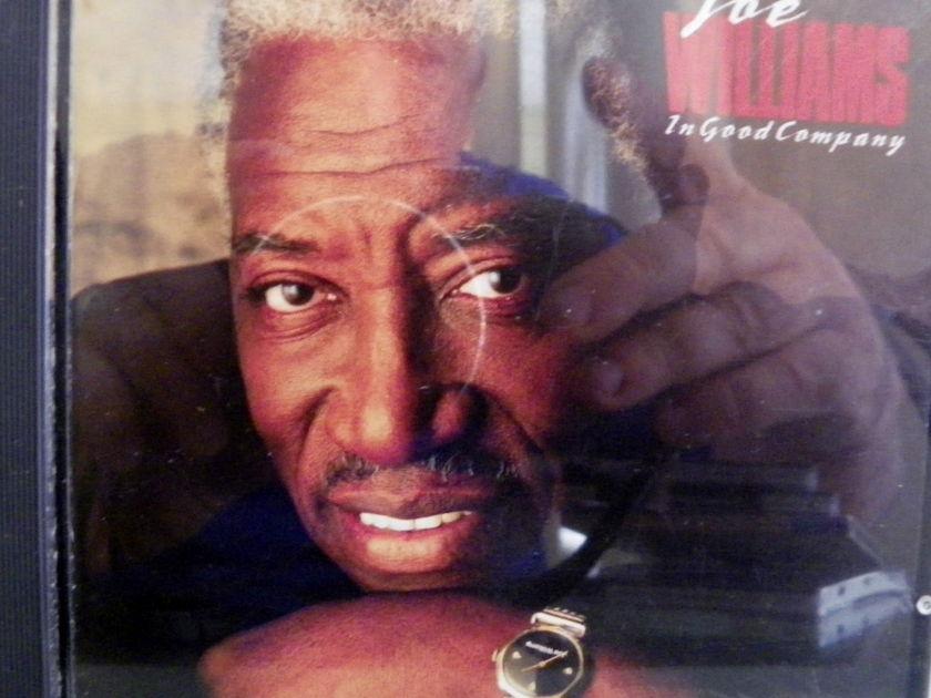 JOE WILLIAMS - IN GOOD COMPANY DIGITAL CD NM