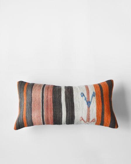 Декоративная подушка из ковра килим Fine Curls