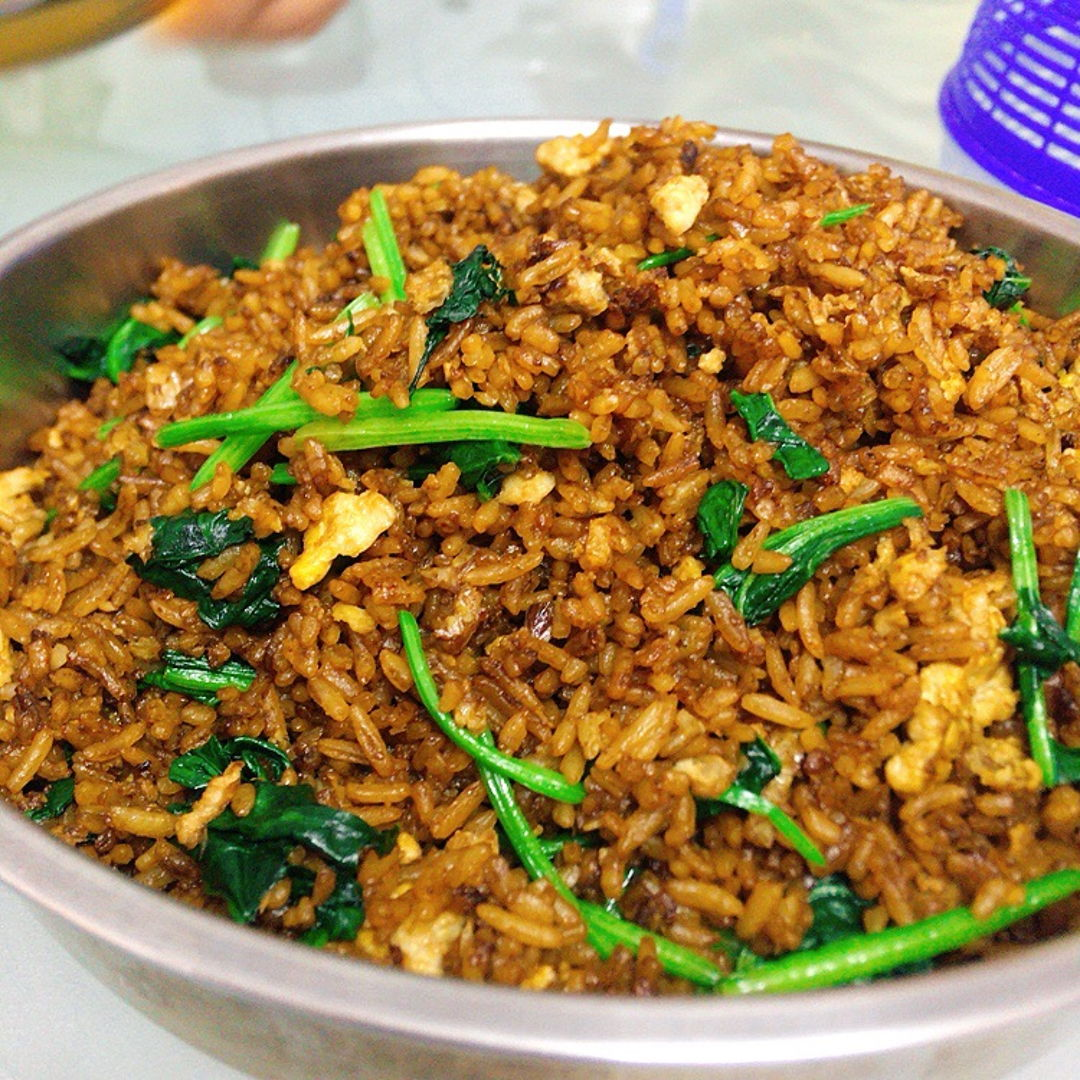Fried rice. Yummy.