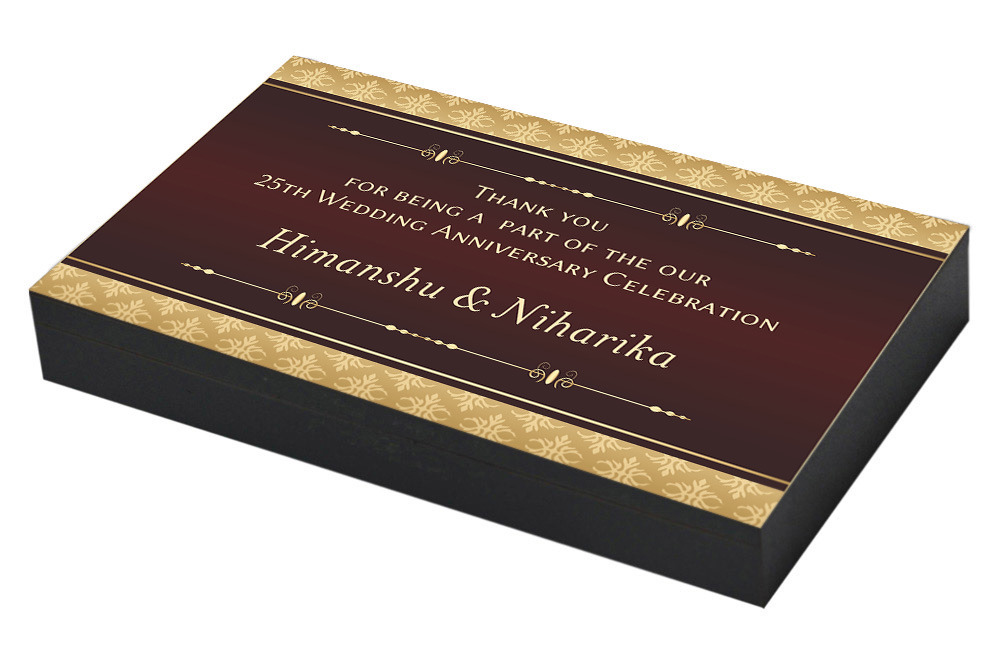 Good Gifts For 25th Wedding Anniversary: 25th Wedding Anniversary Invitation & Return Gifts