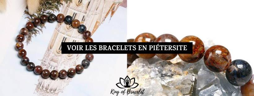 Bracelet Pierre Piétersite - King of Bracelet