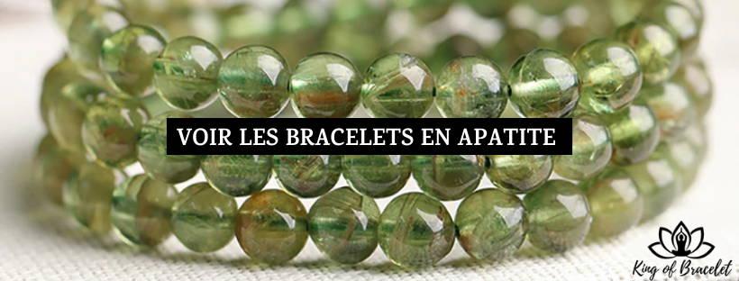 Bracelet Apatite Verte - King of Bracelet