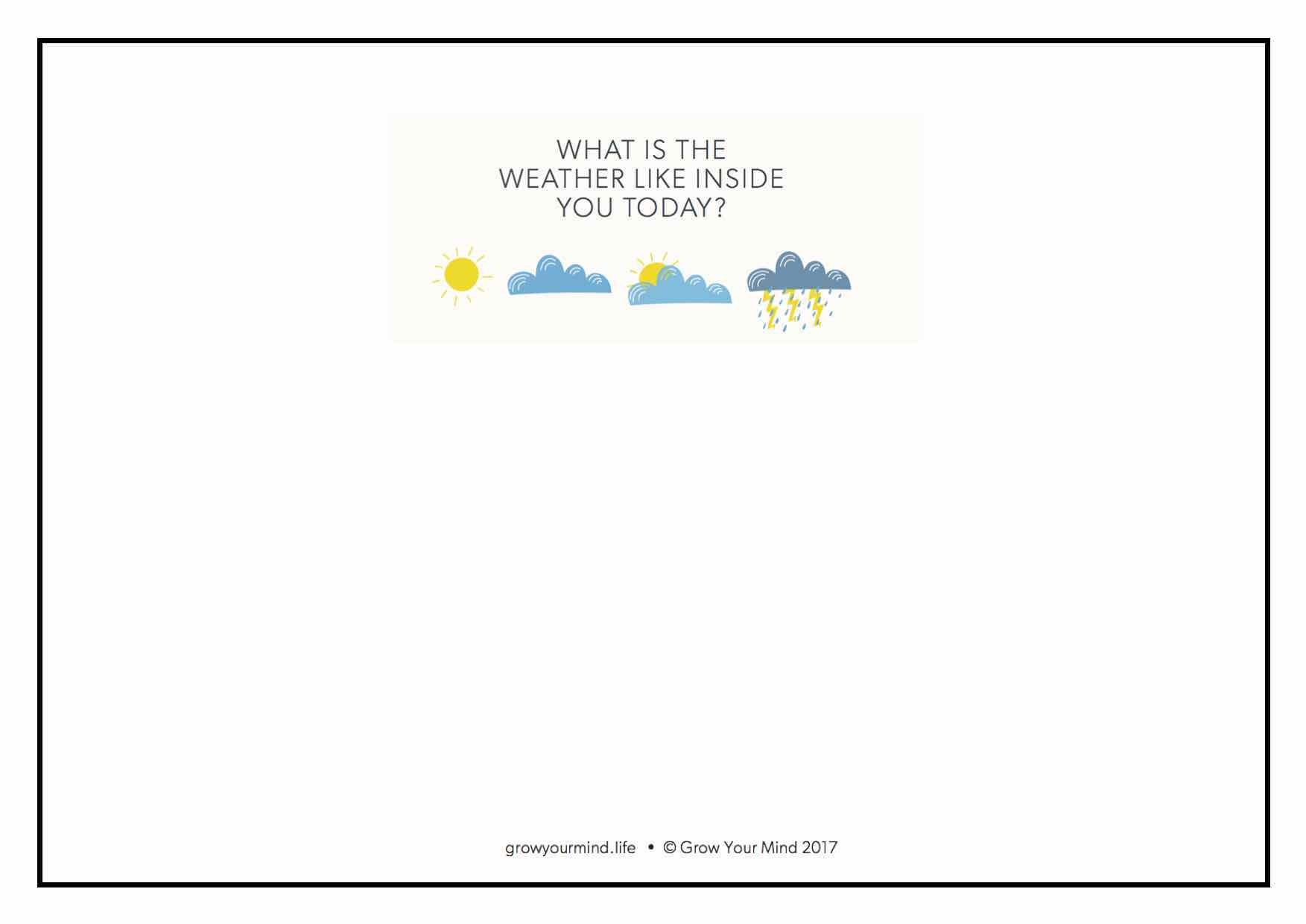 Internal Weather
