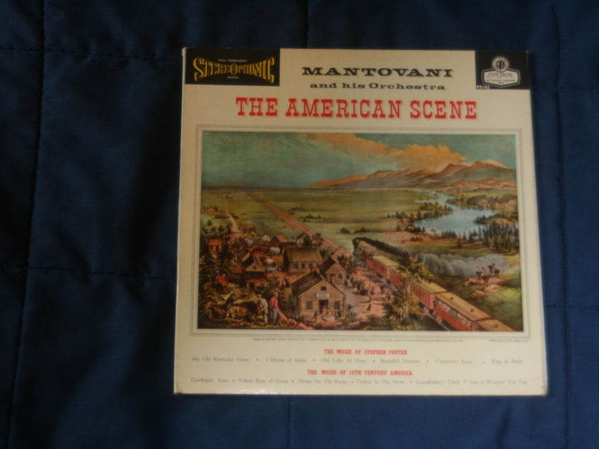 Mantovani and his Orchestra - The American Scene Blue Back London PS182