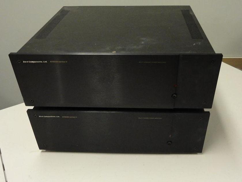 B&K 6000 Series II 6 channel AMP