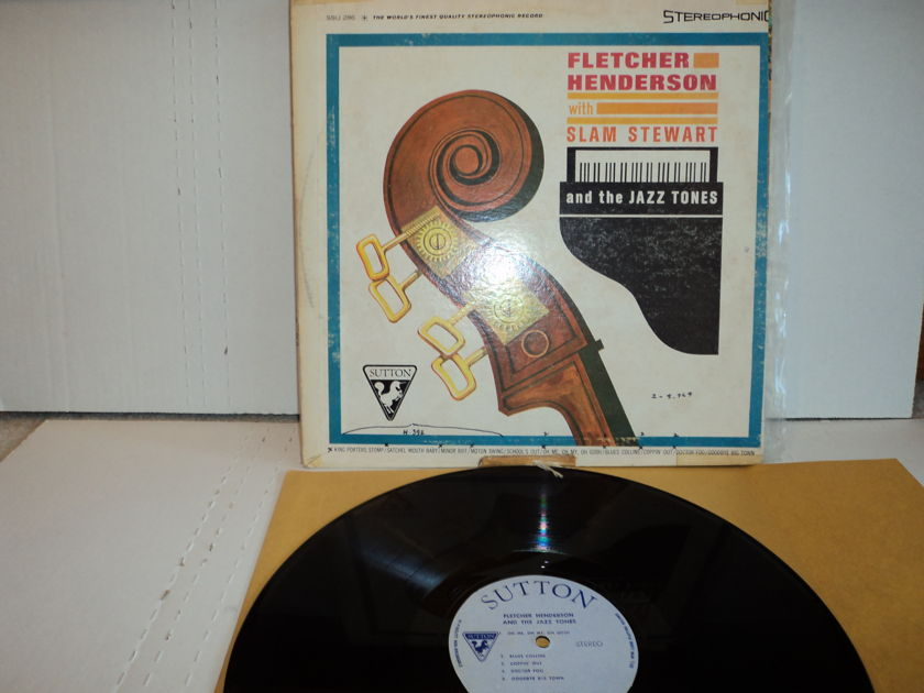 Fletcher Henderson - with Slam Stewart & the Jazz Tones 1950's Sutton Records rare jazz