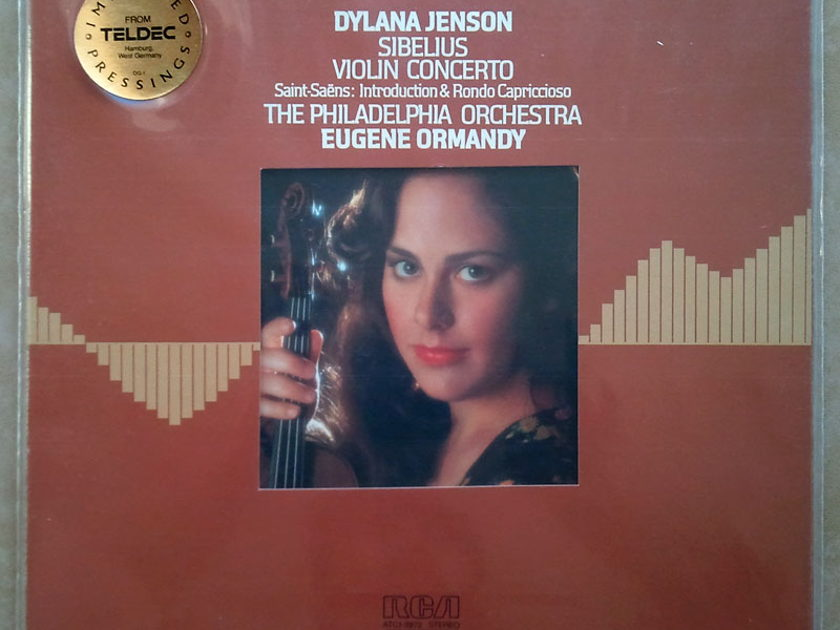 Sealed/RCA Digital/Dylana Jenson/Ormandy/Sibelius - Violin Concerto, Saint-Saens Introduction and Rondo Capriccioso / Audiophile German Pressings