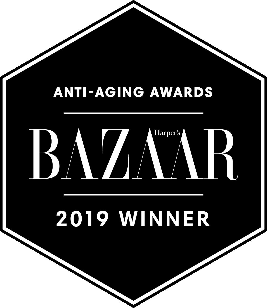 Harpers Bazaar award 2019 anti-aging