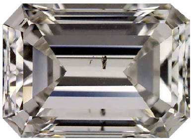 Slightly Included (2nd Degree) – SI1 Clarity diamond