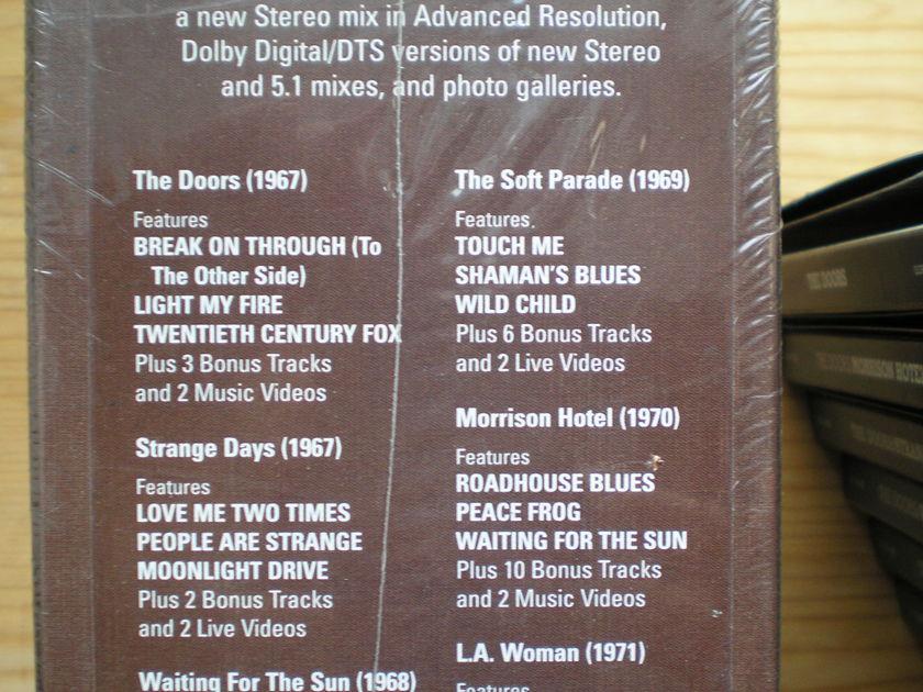 the DOORs - box set 6CDs/6DVDs