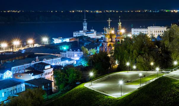 Вечерняя обзорная 3х часовая автобусная экскурсия по Нижнему Новгороду