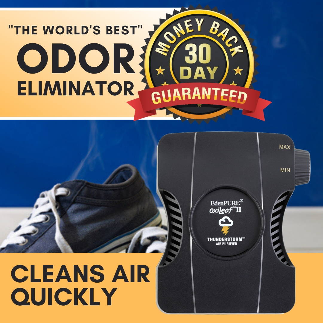 """The World's Best"" Odor Remover - OxiLeaf™ Air Purifier for Odors"